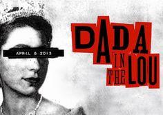 Dada Ball & Bash Invitation by Jamie Reid (2013)