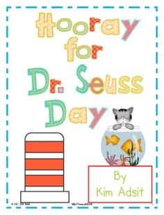 This mini unit has 10 different activities that will make your Dr. Seuss Day full of fun and learning.