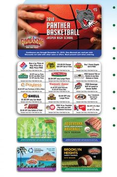ABC Fundraising - Discount Card Fundraisers Pick 15 local stores, businesses, restaurants, entertainment, etc. to offer discounts for your card. Cards cost $7.50, sell for $15, order 300 minimum = profit of $2,250.00 to possible $4,000