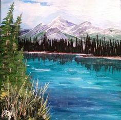 Portfolio Gallery for Al Budarin Impressionist Paintings, Rocky Mountains, Waterfalls, The Great Outdoors, Landscapes, Places To Visit, Display, Gallery, Travel