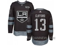 http://www.jordannew.com/los-angeles-kings-13-kyle-clifford-black-19172017-100th-anniversary-stitched-nhl-jersey-super-deals.html LOS ANGELES KINGS #13 KYLE CLIFFORD BLACK 1917-2017 100TH ANNIVERSARY STITCHED NHL JERSEY CHEAP TO BUY Only $35.00 , Free Shipping!