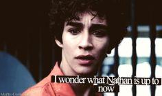 Nathan // Misfits Nathan Misfits, Misfits Tv, Robert Sheehan, Tv Shows, Fandoms, Fictional Characters, Fantasy Characters, Fandom