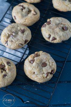 Esses cookies sao deliciosos! Ficam macios por dentro, crocantes por fora e não são doces demais. Aqui em casa…