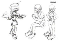 time you enjoy wasting isn't wasted time, You guys ready for some KH cartoon concept art?