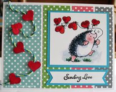 sending love card by Carol Longacre