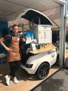 Coffee Truck, Coffee Carts, French Coffee Shop, Cafe Shop, Cafe Bar, Pizza Truck, Bike Cart, Bike Food, Mobile Catering