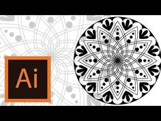 Tutorial Mandala -Illustrator //MANDALA ILLUSTRATOR// - YouTube