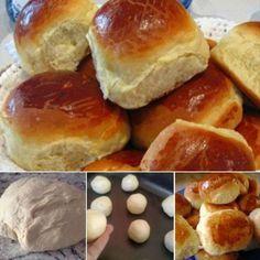 Pão de Leite Delicioso