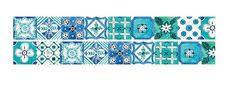 DIY Removable Adhesive Masking Deco Washi Tape - Turkish Tile  (2 cm Width)