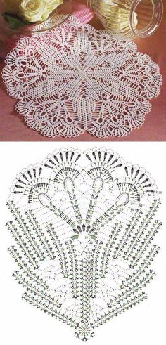 Captivating All About Crochet Ideas. Awe Inspiring All About Crochet Ideas. Crochet Doily Diagram, Crochet Doily Patterns, Crochet Mandala, Crochet Chart, Thread Crochet, Crochet Designs, Crochet Stitches, Rug Patterns, Crochet Home