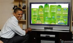 Garnier Fructis Hair Care Products watch live Obama