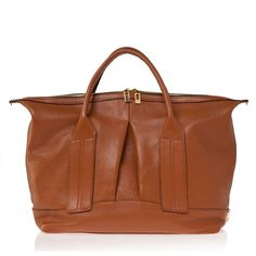 CAST AWAY CONVERTIBLE HANDBAG - Cognac (Pebbled) by Joanna Maxham $695