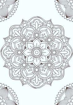 Mandala fleur simple unique doodle art doodle it. Mandala Design, Mandala Art, Image Mandala, Mandalas Painting, Mandalas Drawing, Mandala Coloring Pages, Mandala Pattern, Zentangle Patterns, Dot Painting