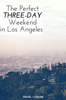 If you're looking for a weekend getaway in L.A. that has a bit more local flavor than the tourist traps of Hollywood Boulevard and the Santa Monica Pier, we have you covered.