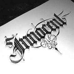 Tattoo Name Fonts, Tattoo Fonts Alphabet, Calligraphy Fonts Alphabet, Tattoo Lettering Styles, Alphabet Symbols, Hand Lettering Alphabet, Tattoo Design Drawings, Tattoo Script, Script Lettering