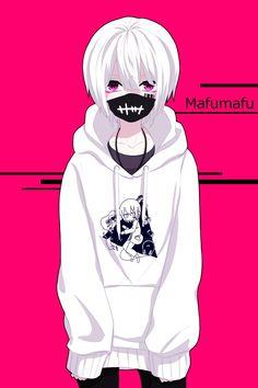 ̄ Im always lazy. Anime Neko, Emo Anime Girl, Cool Anime Guys, Cute Anime Boy, Anime Love, Dark Anime, Image Manga, Gothic Anime, Estilo Anime