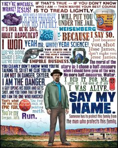 Breaking Bad. Got goosebumps reading some of these lines...love this show!