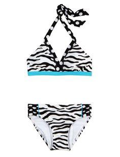 Girls Clothing | Bikinis | Zebra Bikini Swimsuit | Shop Justice     SSOO CUUUTE