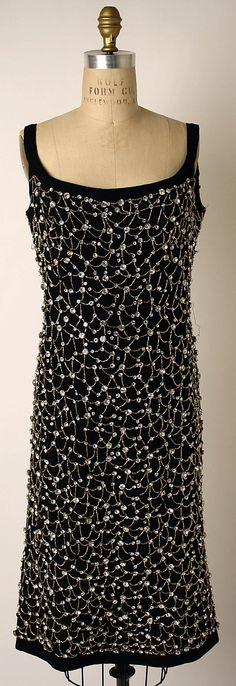 1963 Pauline Trigère dress.
