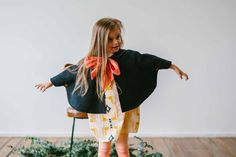 The Someday Wool Blend Cape by CharlieBirdKid on Etsy