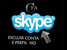 EXCLUIR PERFIL DO SKYPE