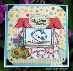 Pixie Dust Studio digital stamp!! Window Shopping is RUFF!!!<3