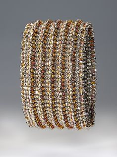 Awesome looking bracelet, so complicated looking.  Pete n Repete, by NanC Meinhardt