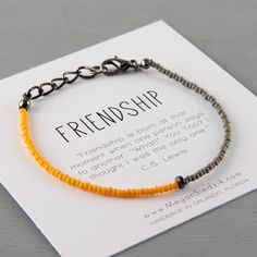 Hey, I found this really awesome Etsy listing at https://www.etsy.com/listing/194043129/simple-friendship-bracelet-best-friends