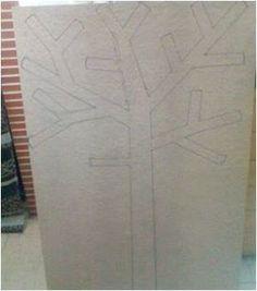 Comment faire un arbre à papier toilette ou PQtier