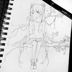 Auch eine Skizze kann Wunder schön sein