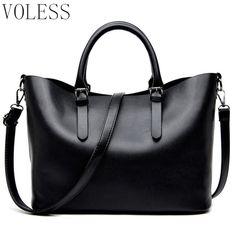c40c0185e33 Fashion Hobos Women HandBags Ladies PU Leather Handbags large capacity  Casual Totes Shoulder Bag Shopping Bags For Woman sac