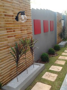 10 Amazing Courtyard Designs That Define Creativity Courtyard Design, Backyard Garden Design, Fence Design, Terrace Garden, Side Yard Landscaping, Modern Landscaping, Back Gardens, Outdoor Gardens, Jardin Decor