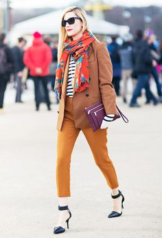 Every Single Way to Tie Your Scarf This Fall via @WhoWhatWearAU