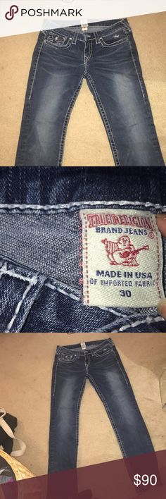 true religion jeans size 30 great condition barely worn great jeans & great quality True Religion Jeans
