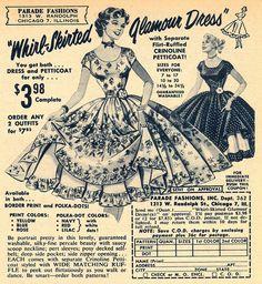 """Whirl-skirted Glamour Dress"""