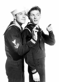 Gene Kelly and Frank Sinatra- love this movie, love them!