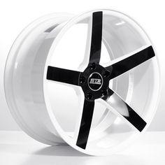 "19"" 20"" 22"" Staggered STR607 Wheels Rims White Black For Mercedes  #AudioCity"