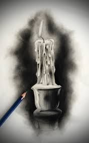 Image result for how to draw a hand held candle holder