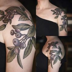Thanks Kate! I love tattooing blueberries!!