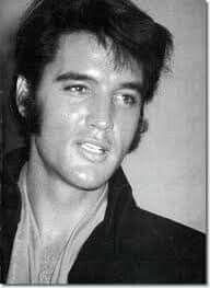 Elvis during the 1969 Las Vegas international press conference