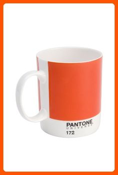 Whitbread Wilkinson Pantone Bone China Mug, Warm Red - Improve your home (*Amazon Partner-Link)