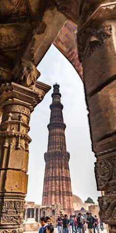 Qtub Minar, Delhi, india