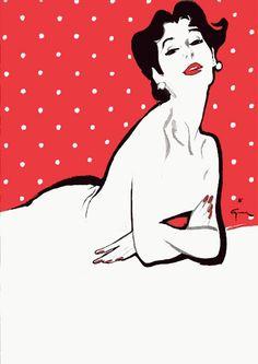 Rene Gruau. Vintage Poster