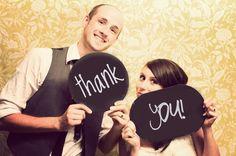 Wedding Thank You Cards - Creative Wedding Photos | Wedding Planning, Ideas & Etiquette | Bridal Guide Magazine