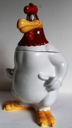 Warner Bros Foghorn Leghorn Cookie Jar