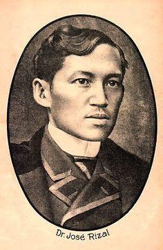 Photograph of Filipino National Hero Jose Rizal