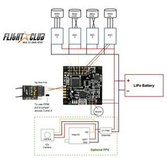 power to naze32 full controller helifreak quad copter naze32 rev. 6 wiring diagram #1