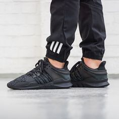 """We are releasing three new @adidasoriginals EQT's tonight, all part of the """"BLK FRDY"""" Pack. This EQT Support ADV drops online Nov. 24th at 00:01AM CET. #adidasoriginals #adidas #sneaker #sneakers #sneakerhead #blackfriday #onfeet #photography #hypebeast #highsnobiety #sneakernews #sneakerfreaker #allikestore"""