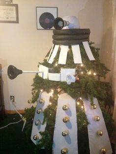 My New Dalek Christmas Tree!!! Epic Doctor Who!!