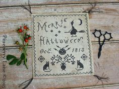 Merrie Halloween PATTERN by Pineberry Lane